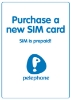 "Picture of Purchase new prepaid ""Pelephone"" local SIM card starting at"